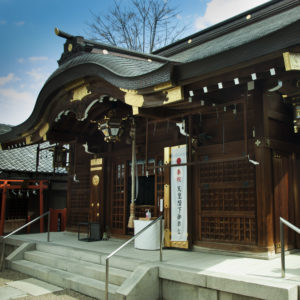 城東区蒲生 若宮神社